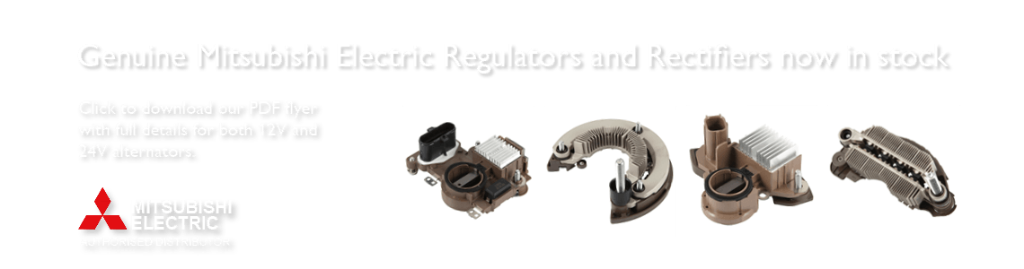 Genuine Mitsubishi Electric Regulators And Rectifiers now in stock